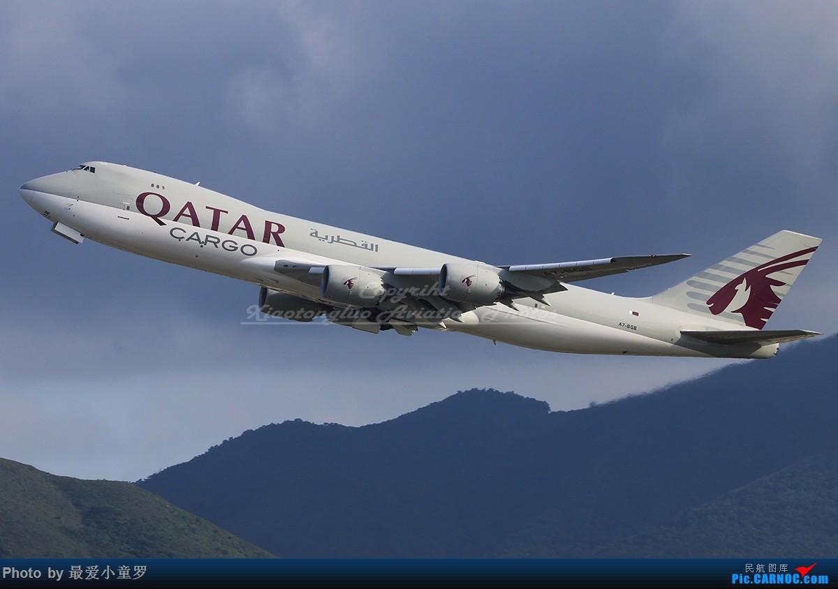 Re:[原创]卡塔尔货运波音747-8F机队 BOEING 747-8F A7-BGB 中国香港国际机场