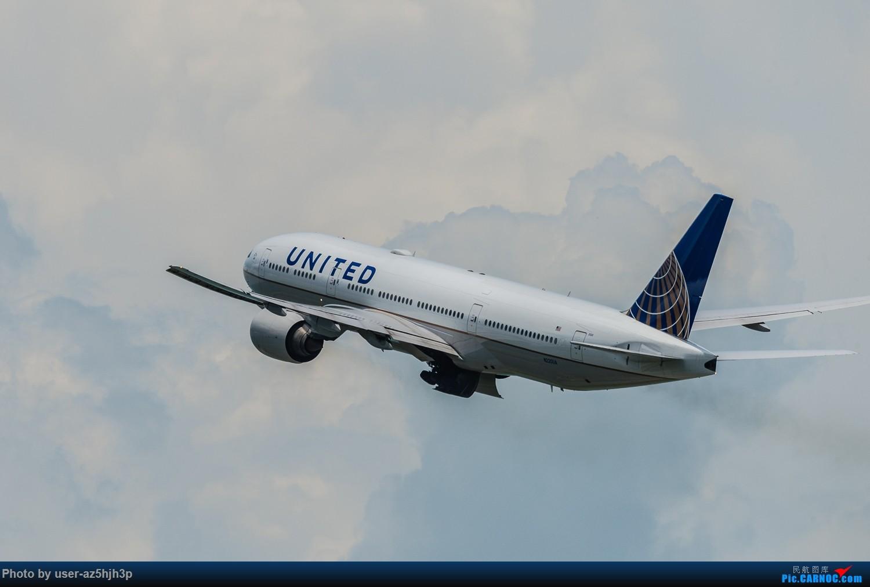 Re:机场维修站拍机(香港) BOEING 777-200 N220UA 香港机场维修站