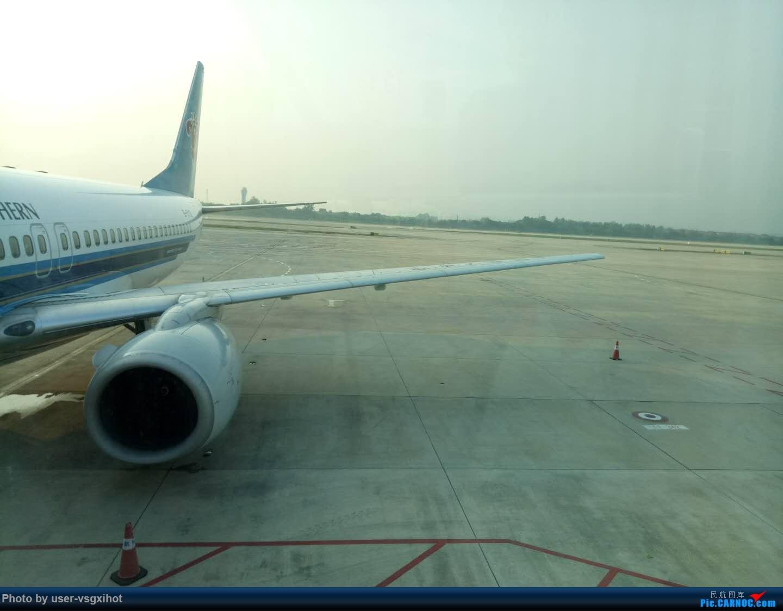 Re:[原创]珞珈小子游记(3)  迟到的青岛比赛游记,外加青岛一日游 BOEING 737-800  武汉天河机场