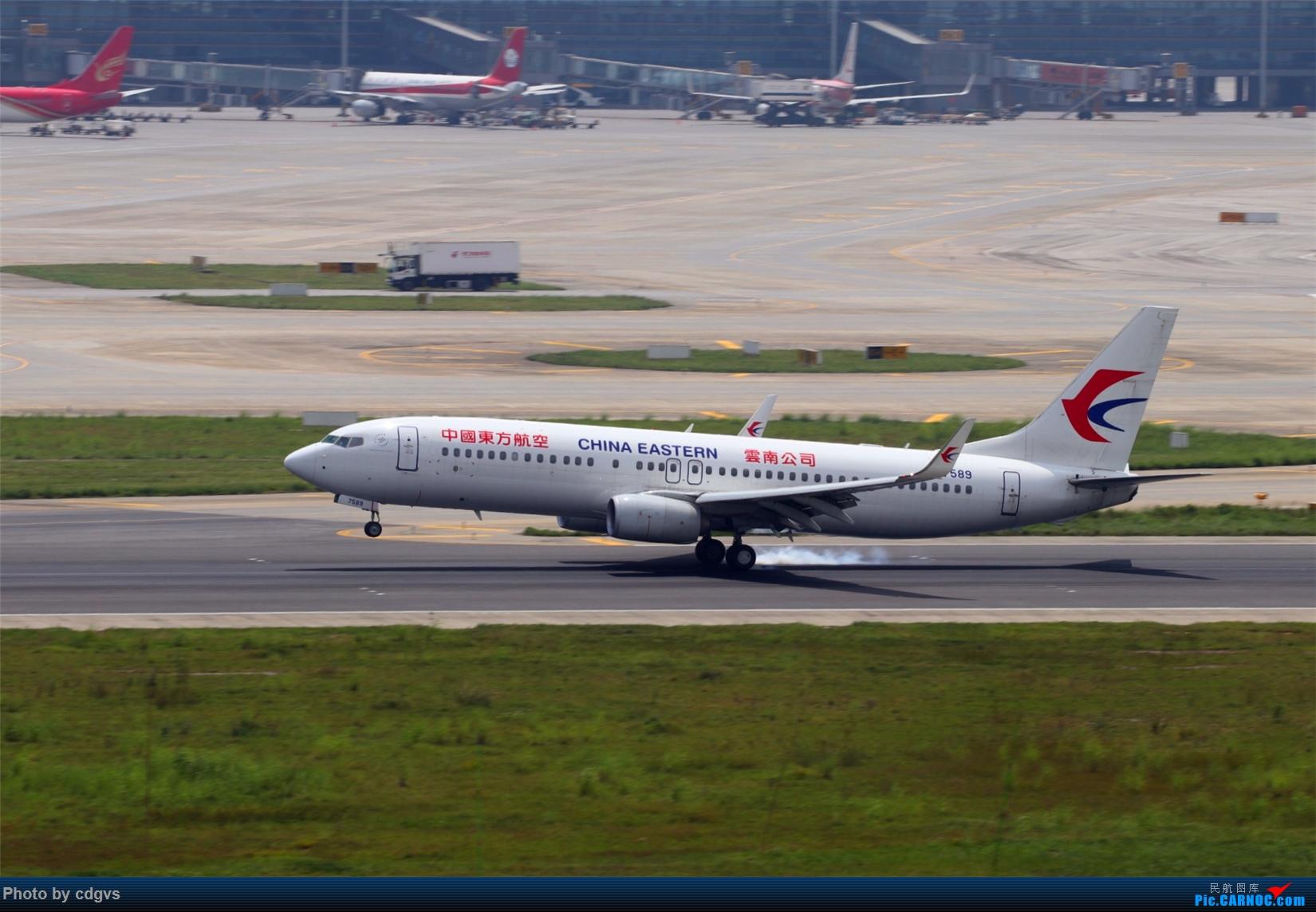 Re:[原创][原创]【KMG】擦烟一组 BOEING 737-800 B-7589 中国昆明长水国际机场
