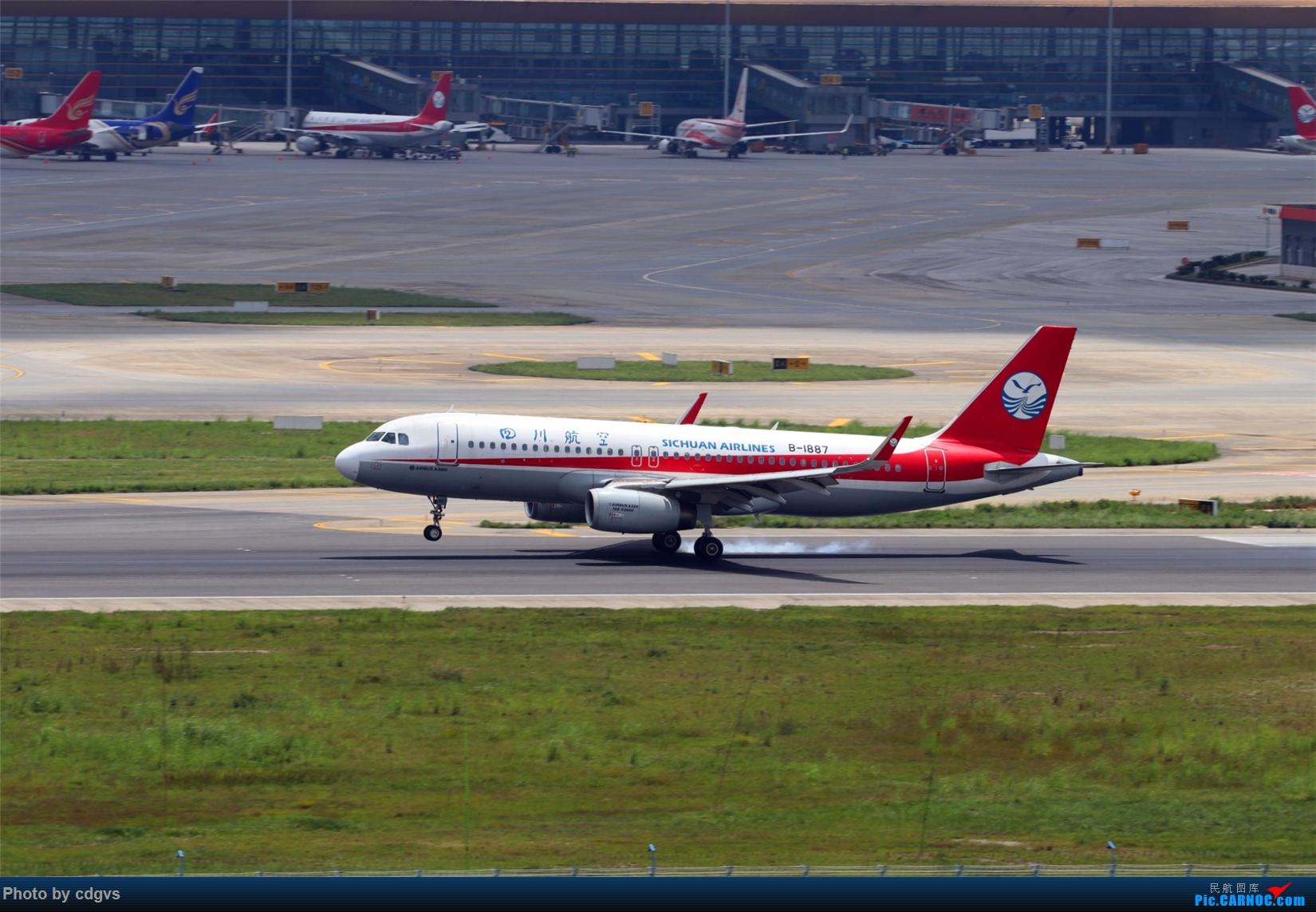 Re:[原创][原创]【KMG】擦烟一组 AIRBUS A320-200 B-1887 中国昆明长水国际机场