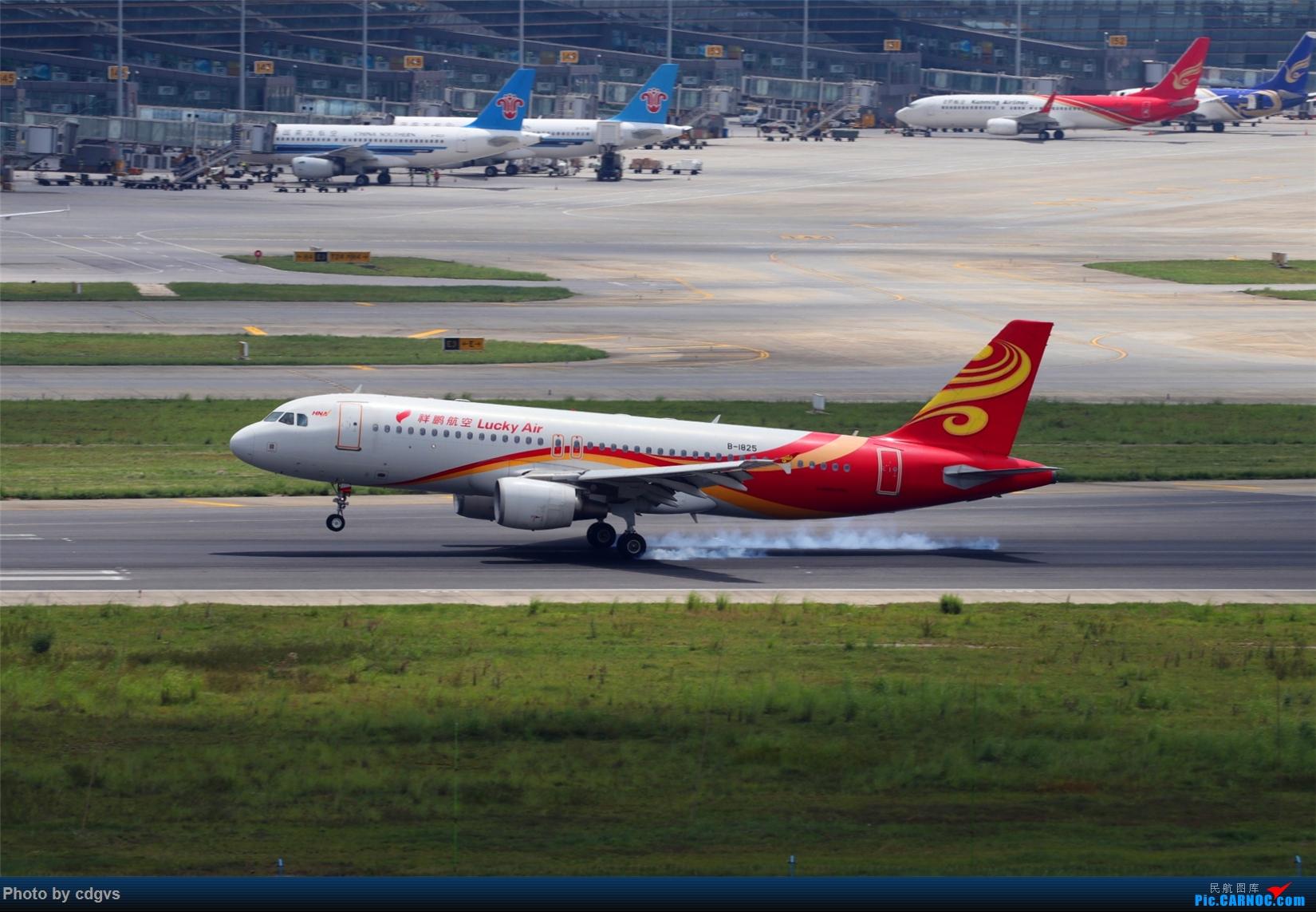 Re:[原创][原创]【KMG】擦烟一组 AIRBUS A320-200 B-1825 中国昆明长水国际机场