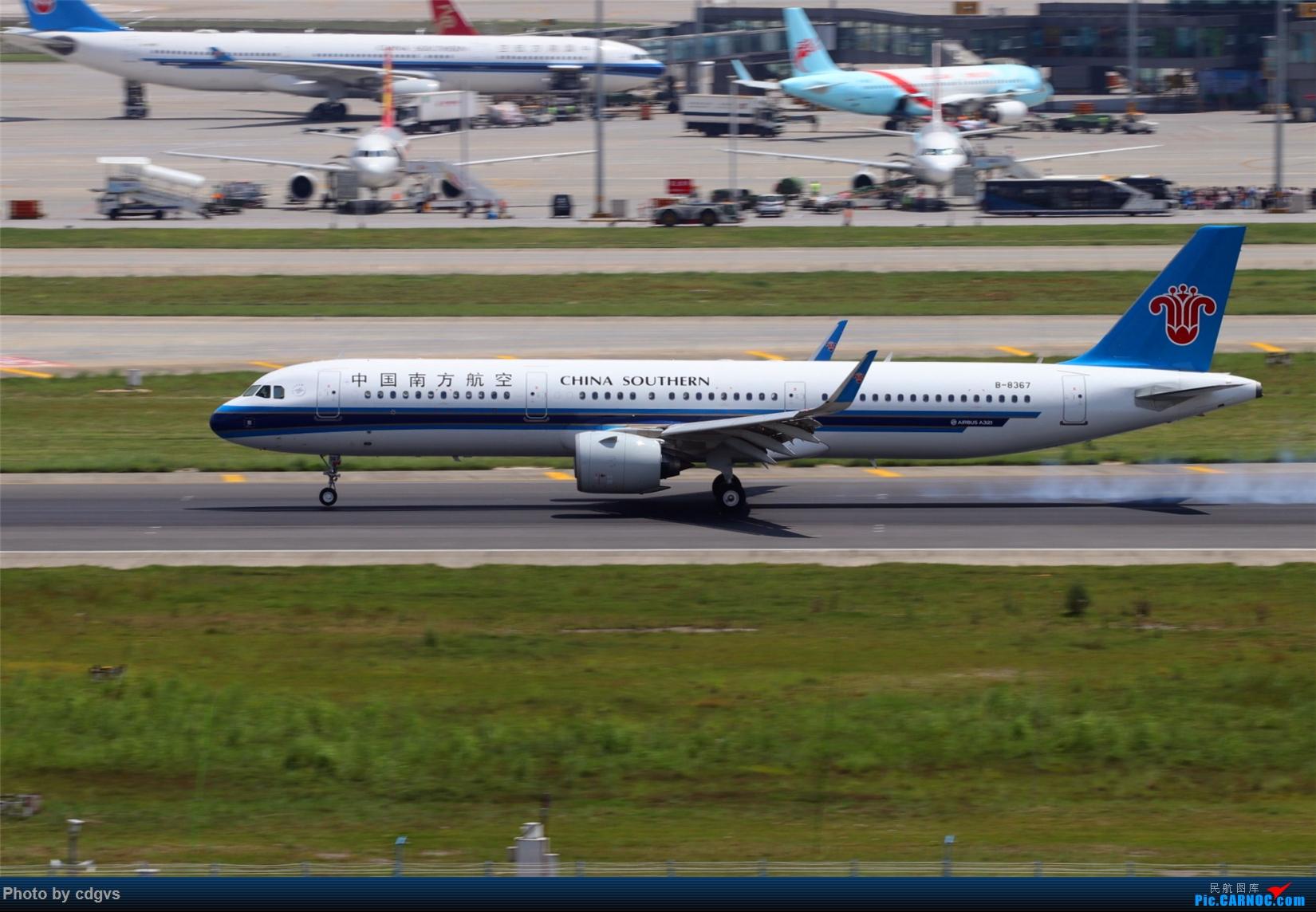Re:[原创][原创]【KMG】擦烟一组 AIRBUS A321NEO B-8367 中国昆明长水国际机场
