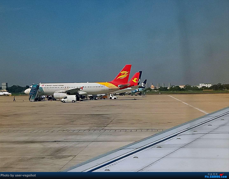 Re:[原创]珞珈小子游记(3)  迟到的青岛比赛游记,外加青岛一日游 BOEING 737-800  青岛流亭机场
