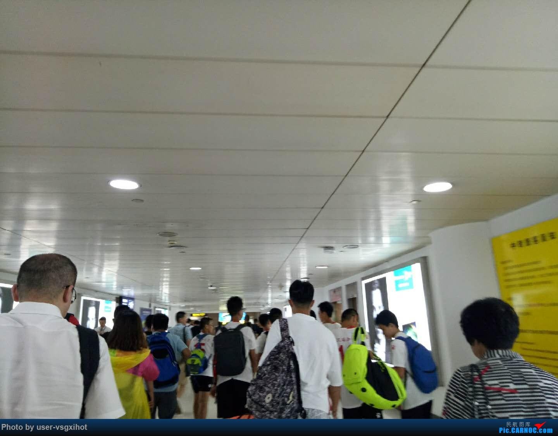 Re:[原创]珞珈小子游记(3)  迟到的青岛比赛游记,外加青岛一日游    中国青岛流亭国际机场