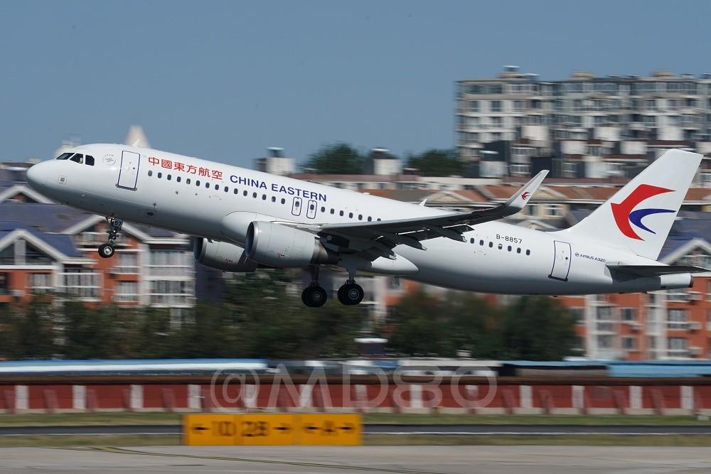Re:[原创][DLC内场] 今天的DLC有7-8级风 AIRBUS A320-200 B-8857 中国大连国际机场