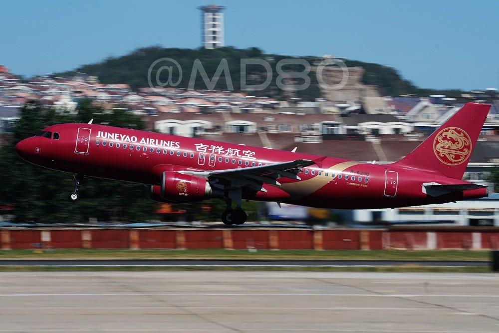 Re:[原创][DLC内场] 今天的DLC有7-8级风 AIRBUS A320-200 B-6298 中国大连国际机场