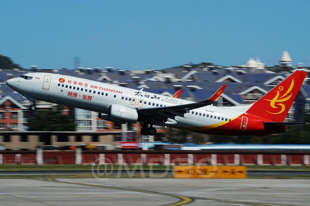 Re:[原创][DLC内场] 今天的DLC有7-8级风 BOEING 737-800 B-5115 中国大连国际机场