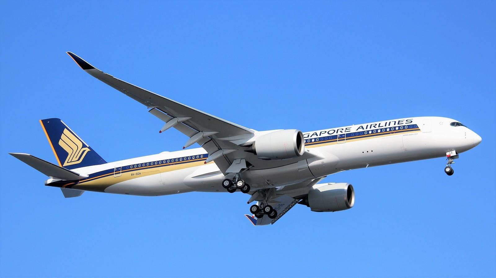 [原创]新飞机到货 - 樟宜机场 新航 A350ULR A350-ULR 9V-SGA 新加坡樟宜机场