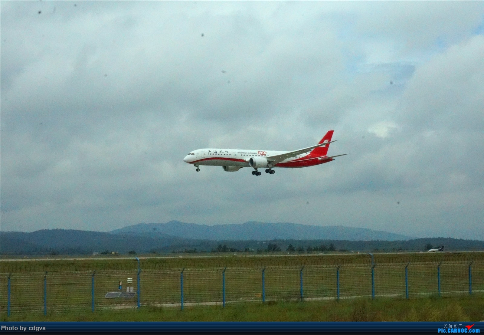 [原创]【KMG】上海航空787-9首航昆明 BOEING 787-9 B-1111 中国昆明长水国际机场
