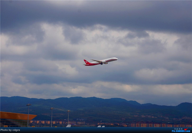 Re:[原创]【KMG】上海航空787-9首航昆明 BOEING 787-9 B-1111 中国昆明长水国际机场