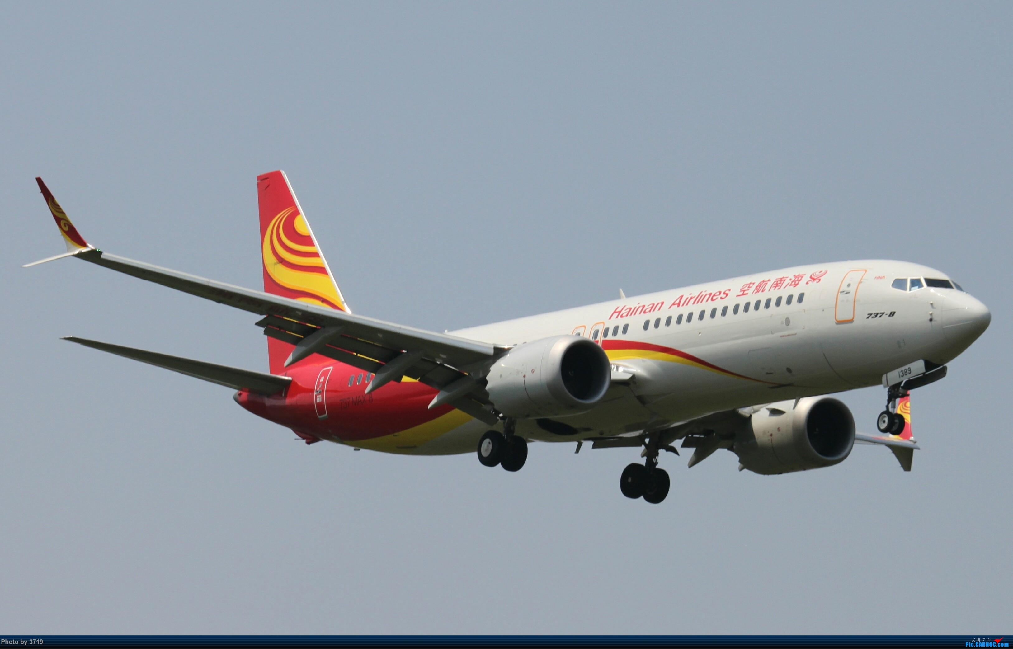 Re:[原创]【梁泽希拍机故事7】2018年第六次拍机 BOEING 737MAX-8 B-1389 中国西安咸阳国际机场