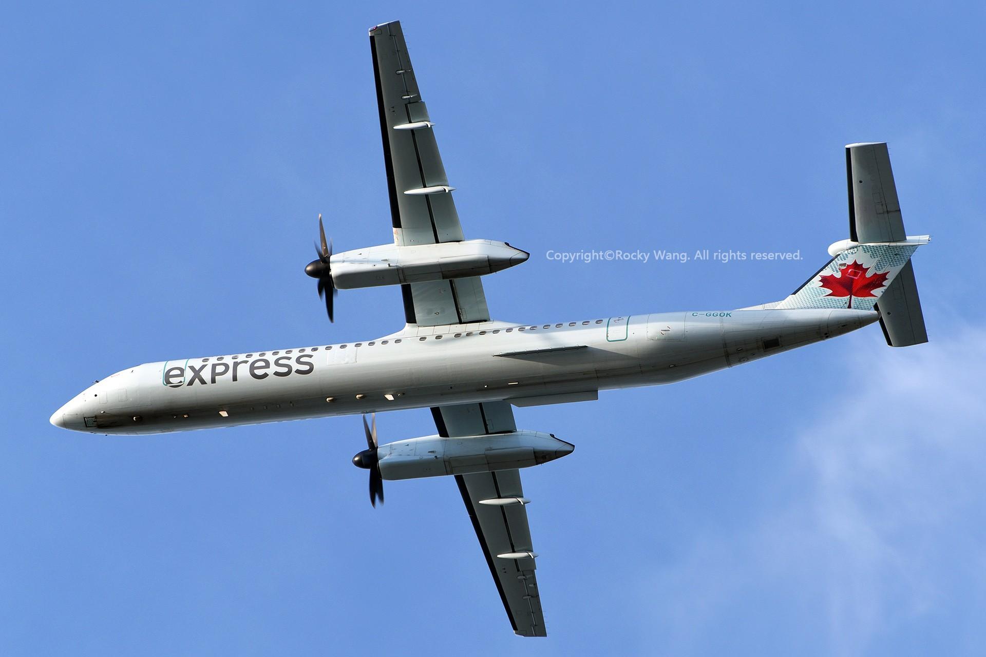 [原创]Seattle 30图 BOMBARDIER DASH 8-Q402 C-GGOK Seattle-Tacoma Int'l Airport