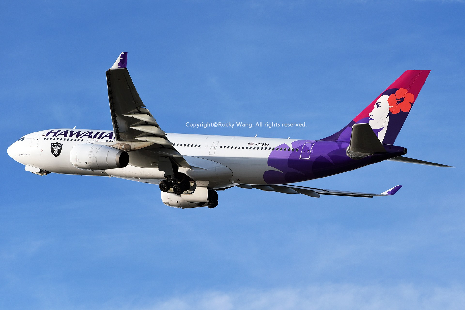 Re:[原创]Seattle 30图 AIRBUS A330-243 N378HA Seattle-Tacoma Int'l Airport