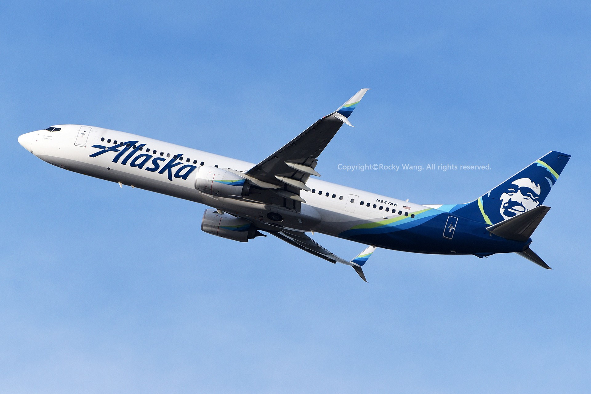 Re:[原创]Seattle 30图 BOEING 737-990ER N247AK Seattle-Tacoma Int'l Airport