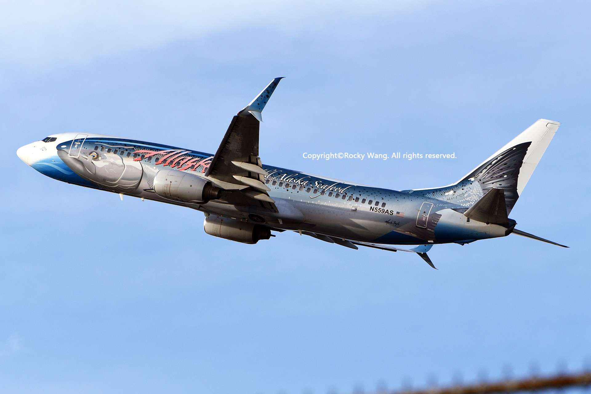 Re:[原创]Seattle 30图 BOEING 737-890 N559AS Seattle-Tacoma Int'l Airport