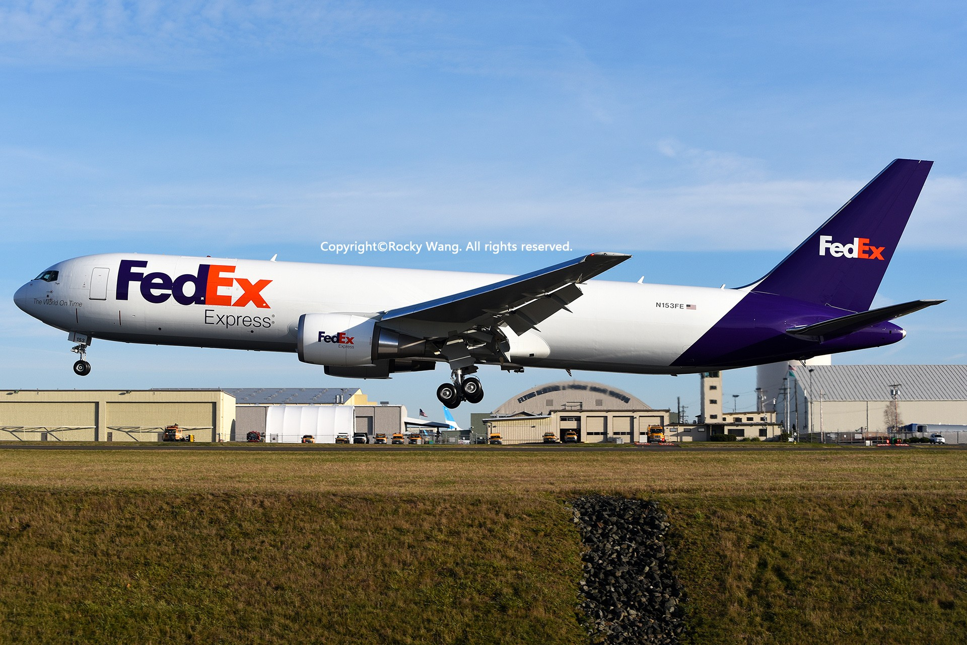 Re:[原创]Seattle 30图 BOEING 767-3S2F(ER) N153FE Snohomish County Airport/Paine Field