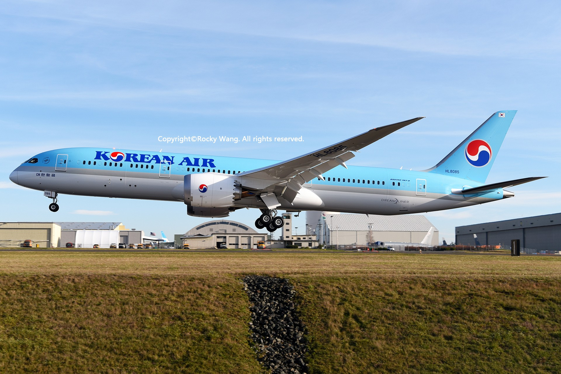 Re:[原创]Seattle 30图 BOEING 787-9 DREAMLINER HL8085 Snohomish County Airport/Paine Field