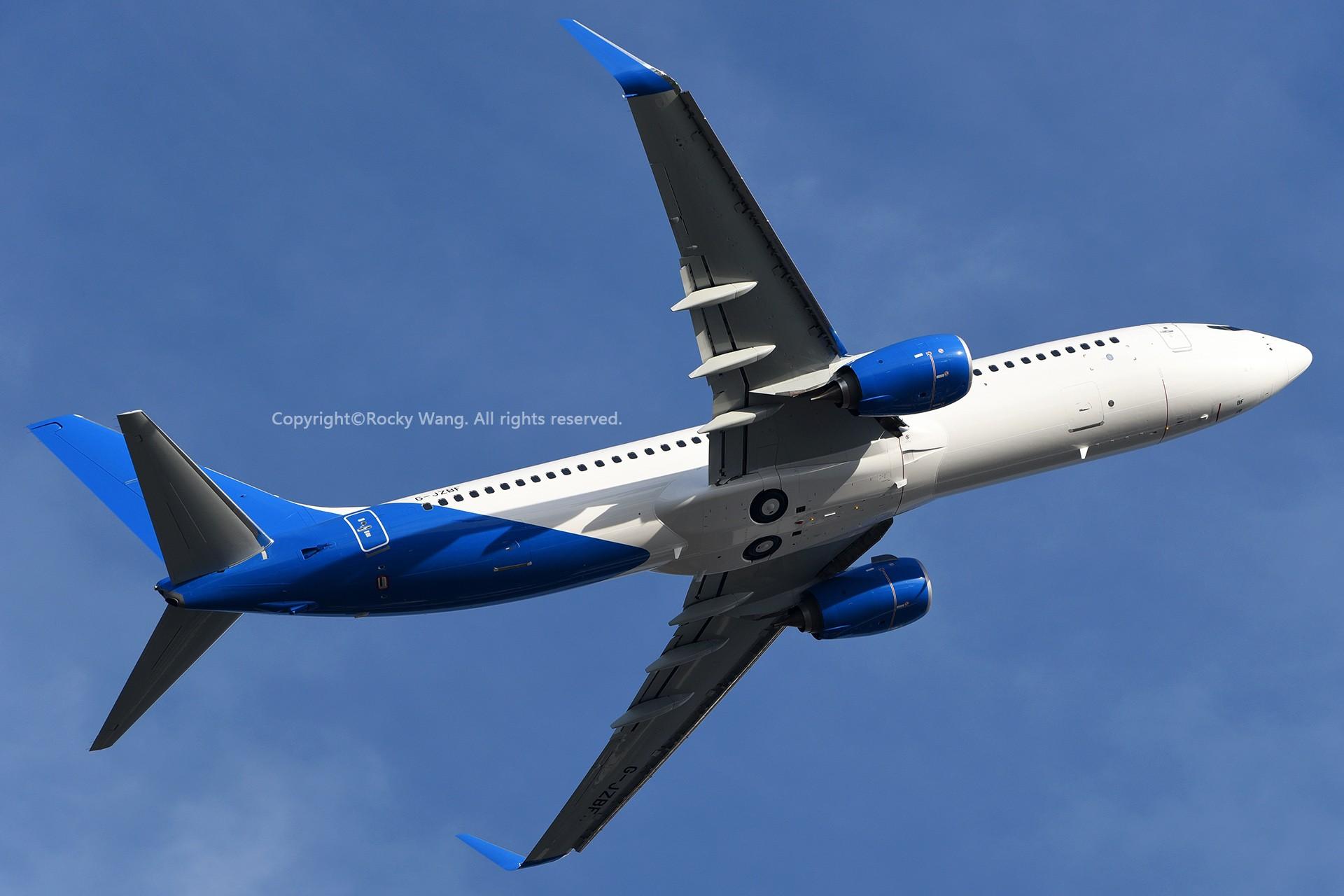 Re:[原创]Seattle 30图 BOEING 737-8MG G-JZBF Seattle Boeing Field/King County