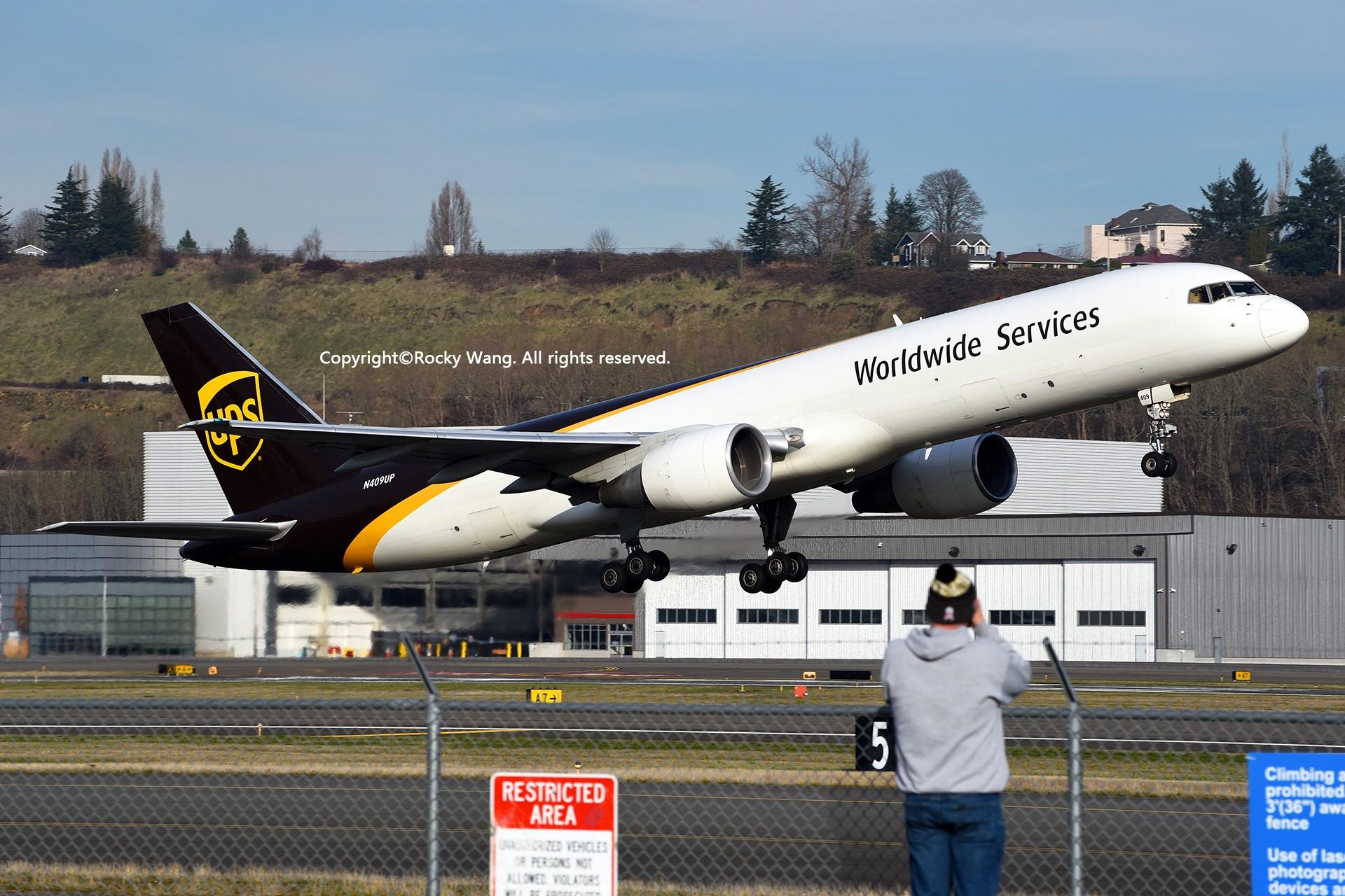Re:[原创]Seattle 30图 BOEING 757-24A(PF) N409UP Seattle Boeing Field/King County