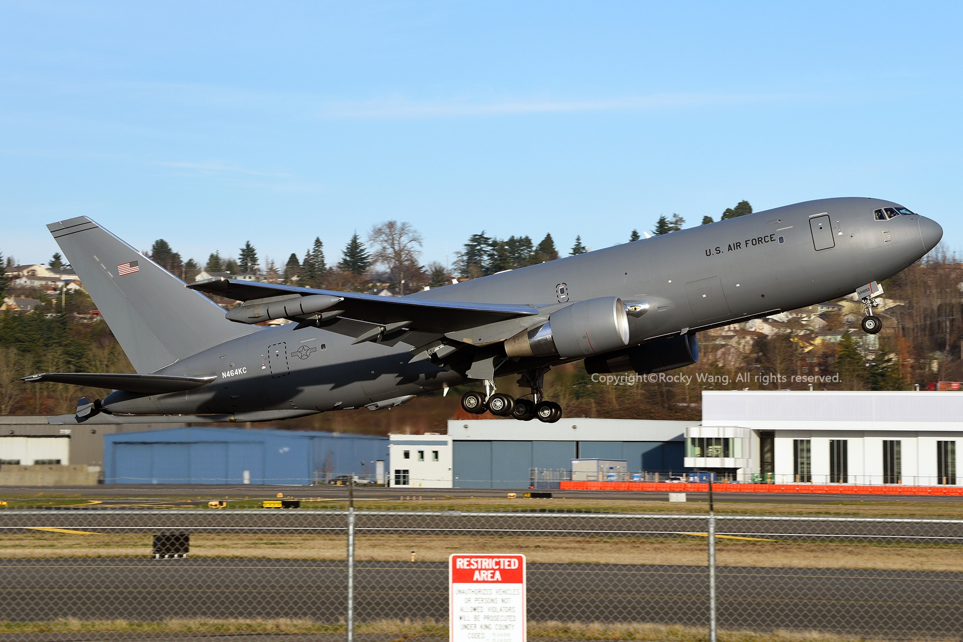 Re:[原创]Seattle 30图 BOEING KC-46A PEGASUS N464KC Seattle Boeing Field/King County