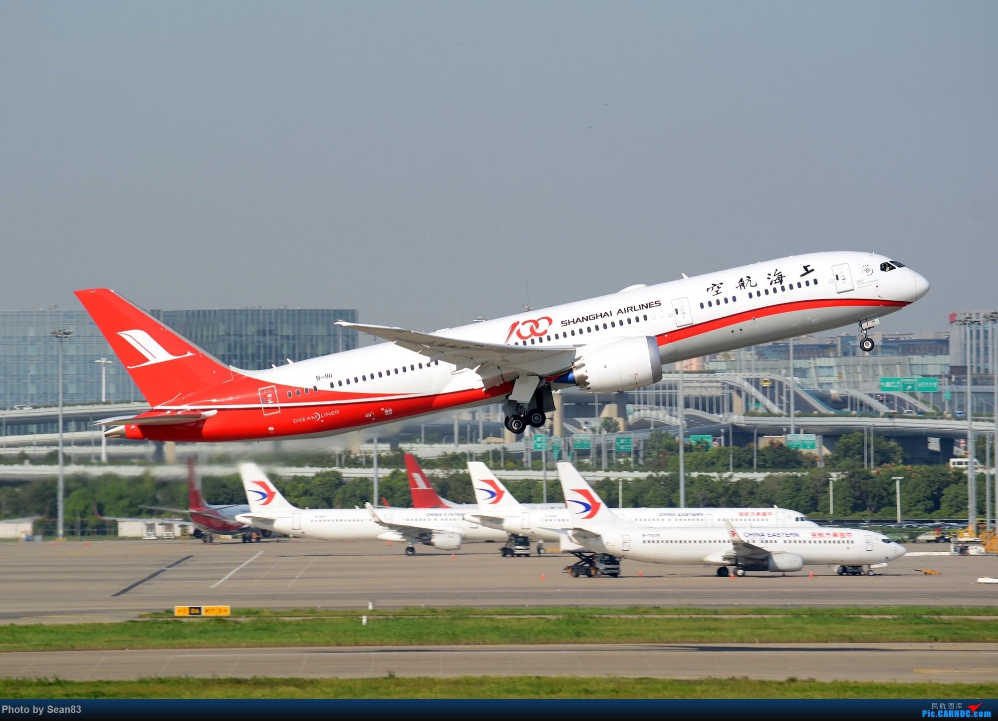 [原创](SHA) 迟到的1111 BOEING 787-9 B-1111 中国上海虹桥国际机场