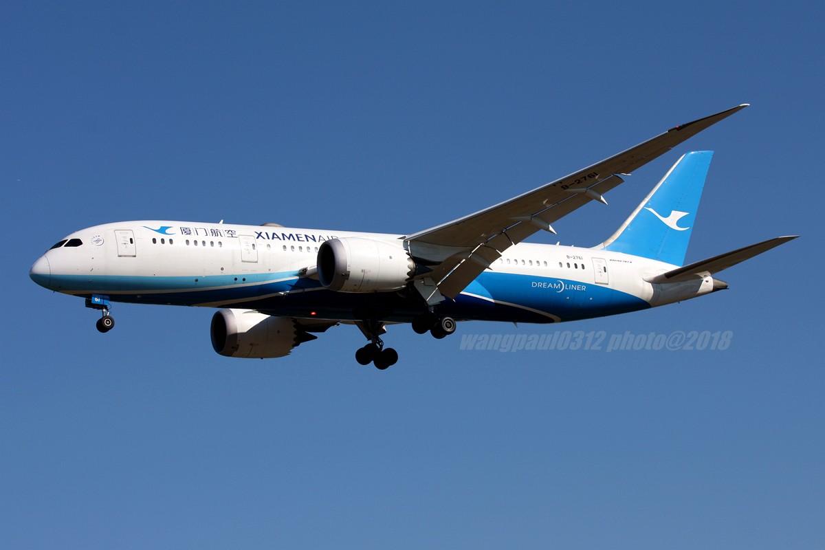 Re:[原创]再不贴图就堕落成一名伪飞友了,国庆节的八卦台 BOEING 787-8 B-2761 北京首都国际机场