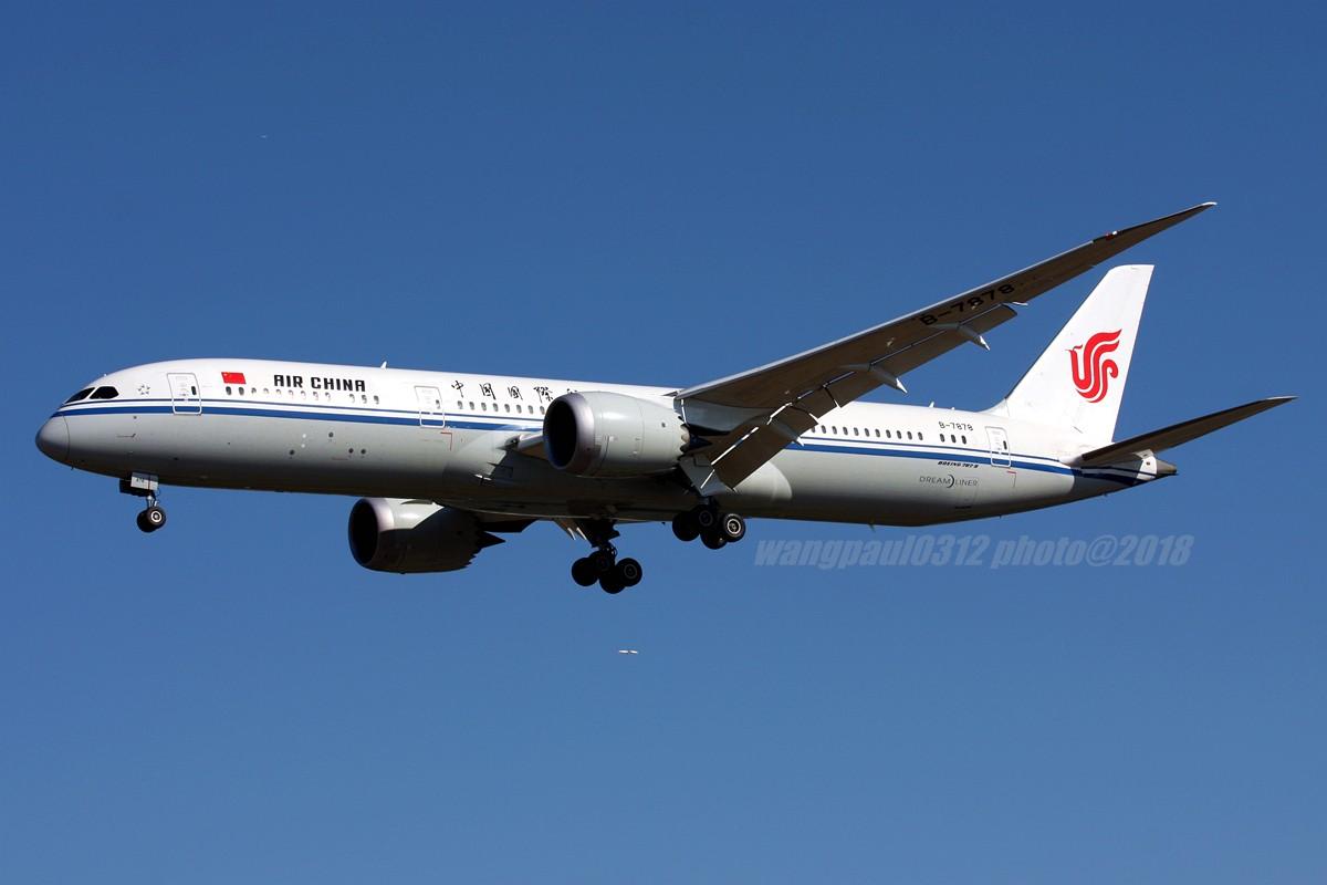 Re:[原创]再不贴图就堕落成一名伪飞友了,国庆节的八卦台 BOEING 787-9 B-7878 北京首都国际机场