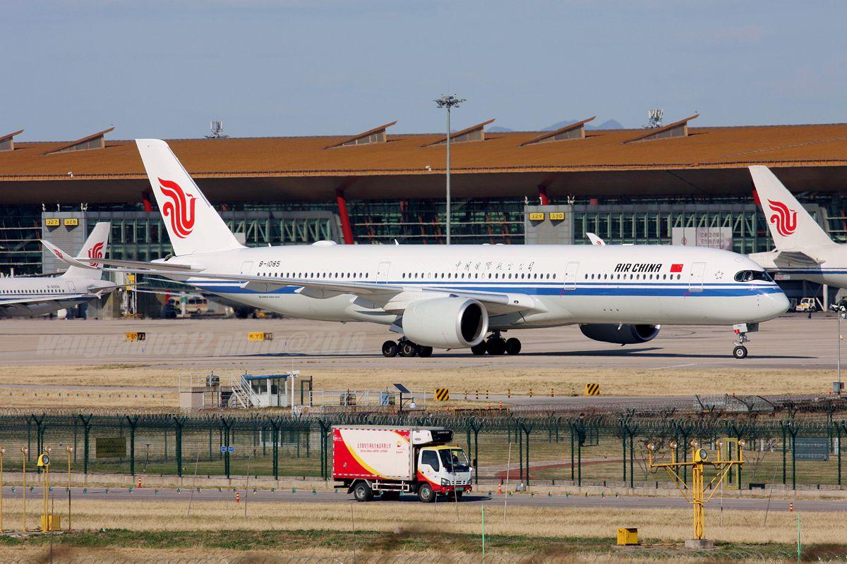 Re:[原创]再不贴图就堕落成一名伪飞友了,国庆节的八卦台 AIRBUS A350-900 B-1085 中国北京首都国际机场