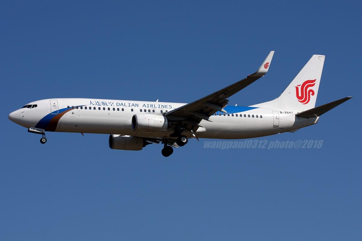 Re:[原创]再不贴图就堕落成一名伪飞友了,国庆节的八卦台 BOEING 737-800 B-7597 北京首都国际机场