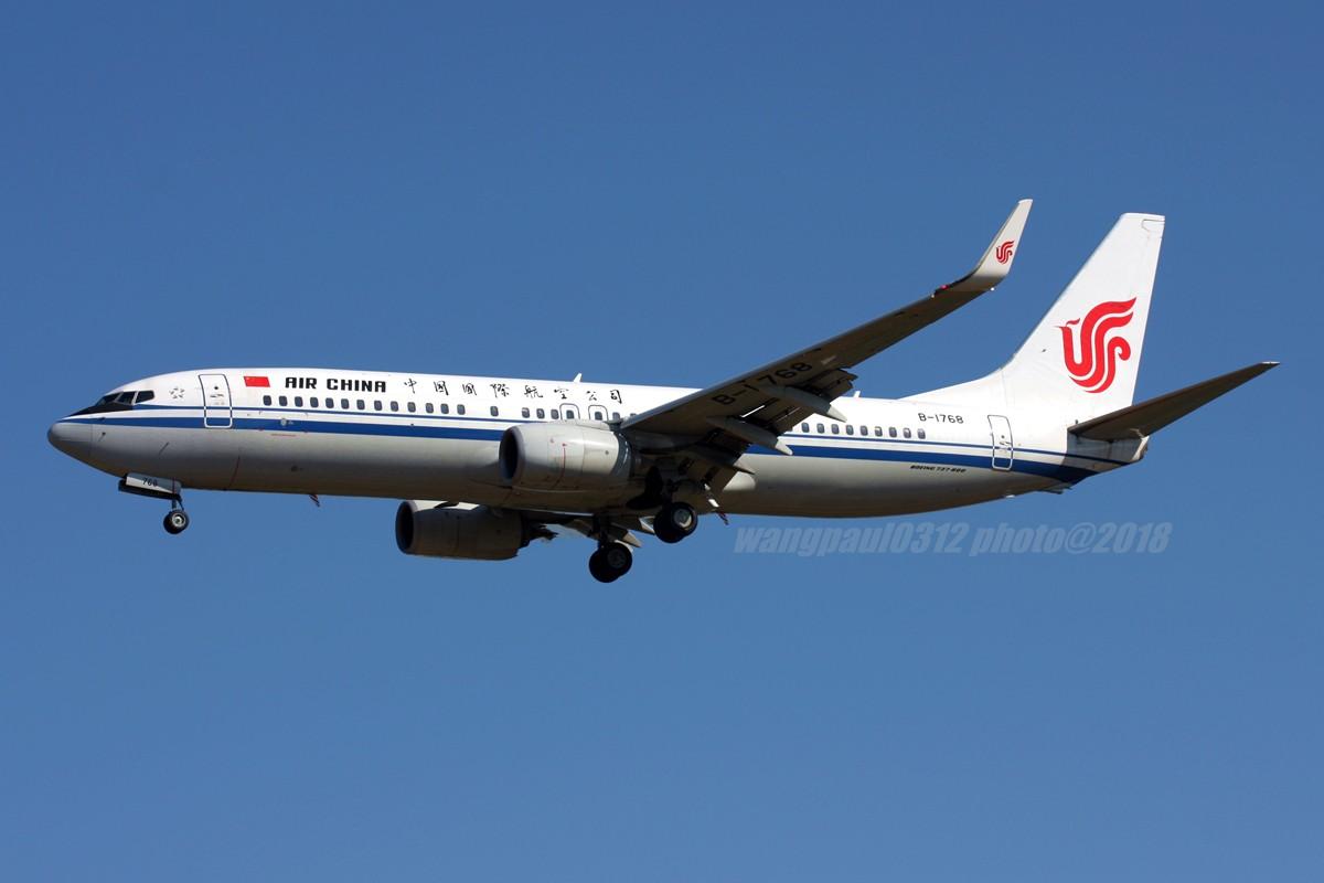 Re:[原创]再不贴图就堕落成一名伪飞友了,国庆节的八卦台 BOEING 737-800 B-1768 北京首都国际机场