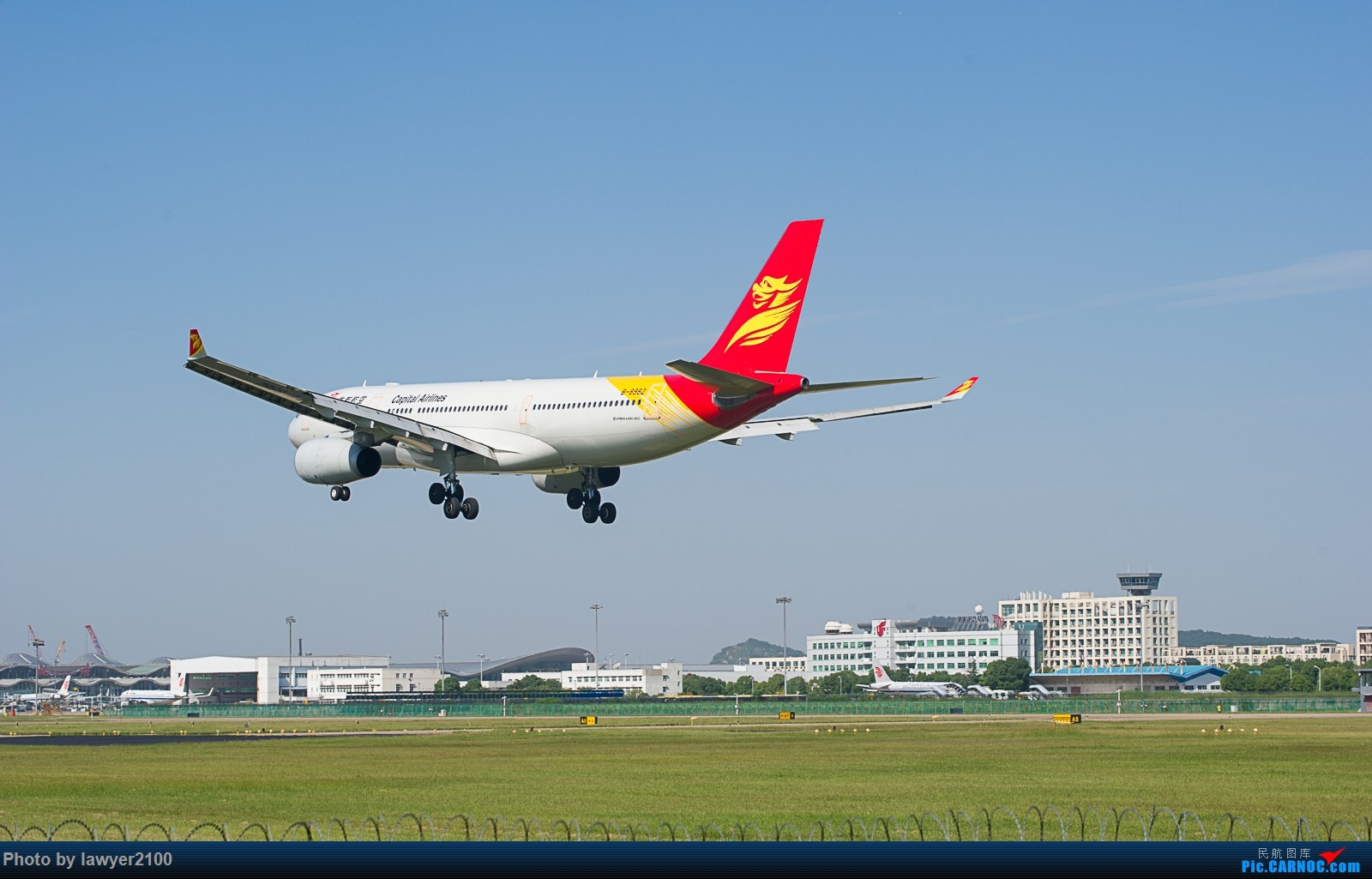 Re:[原创]HGH——国庆首都航空332一组 AIRBUS A330-200 B-8982 中国杭州萧山国际机场