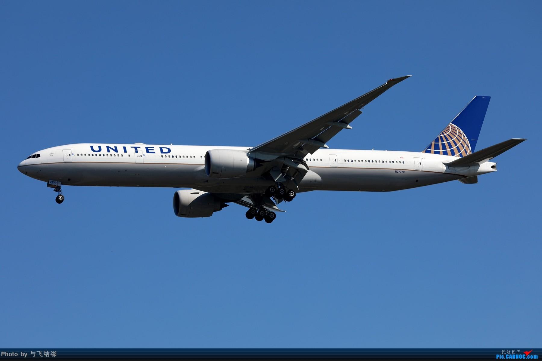 Re:[原创]波音777-300ER图一组! BOEING 777-300ER N2737U 中国北京首都国际机场