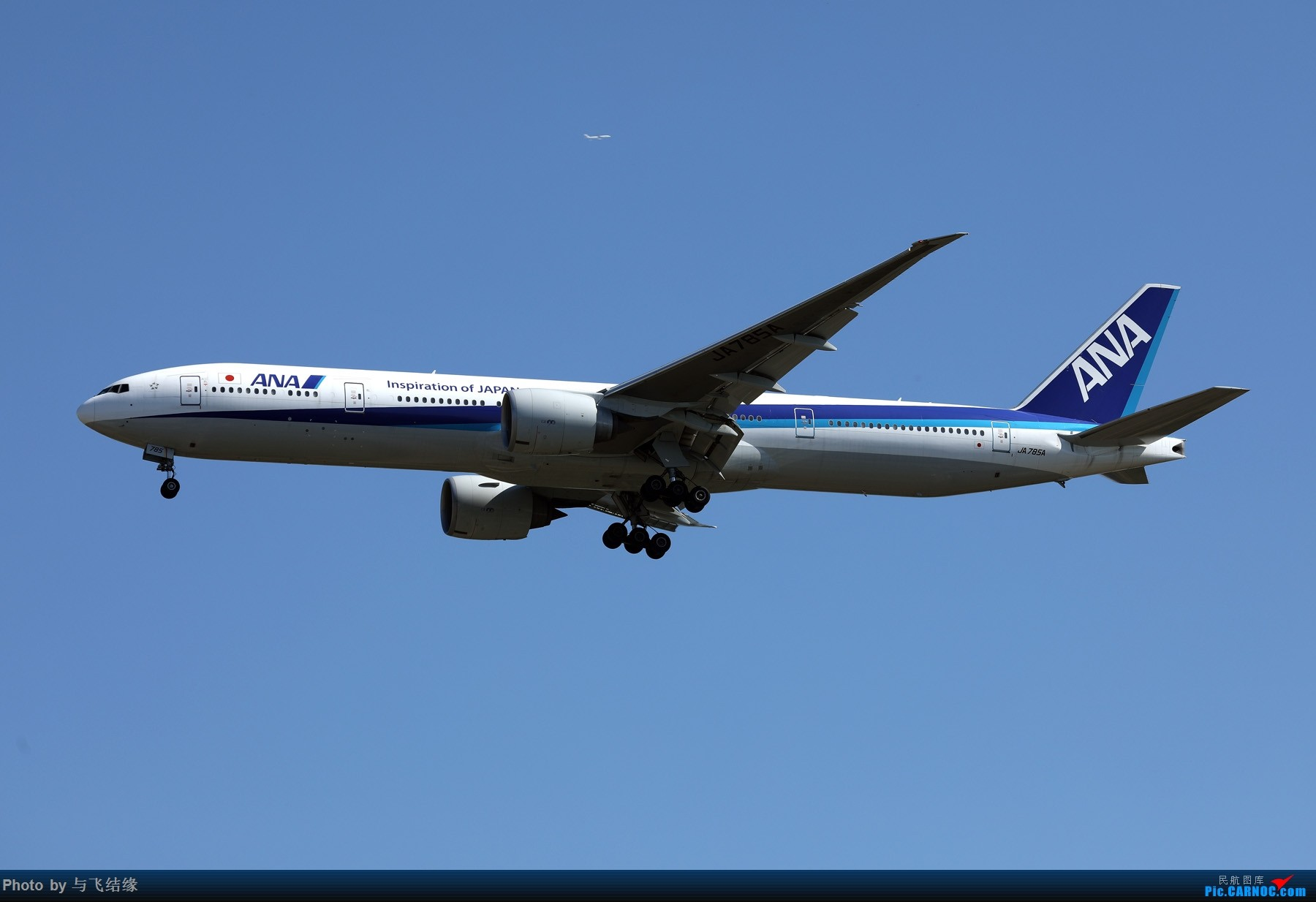 Re:波音777-300ER图一组! BOEING 777-300ER JA785A 中国北京首都国际机场