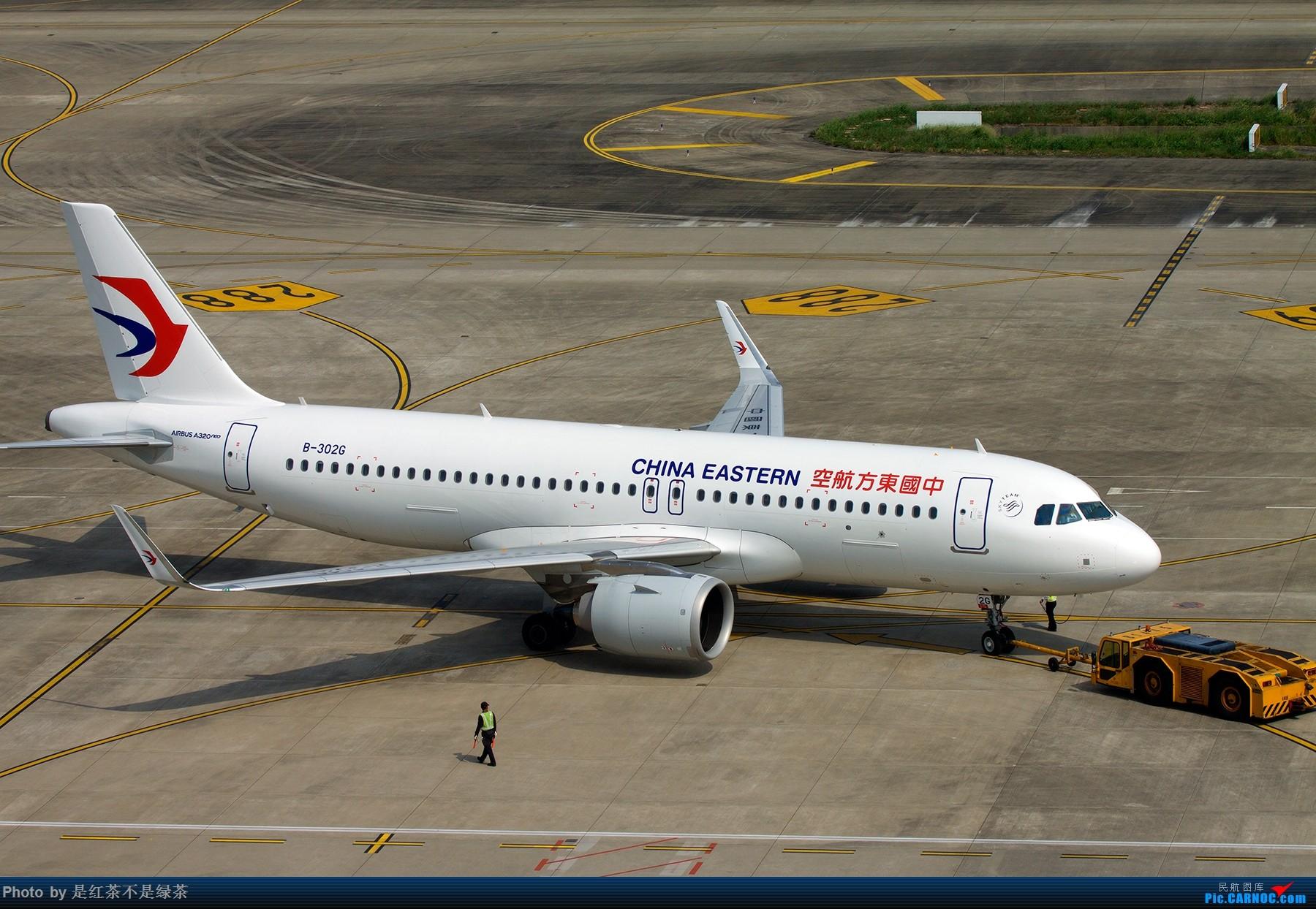 [原创]【红茶拍机】东航和南航的当家新窄体。 AIRBUS A320NEO B-302G 中国上海虹桥国际机场