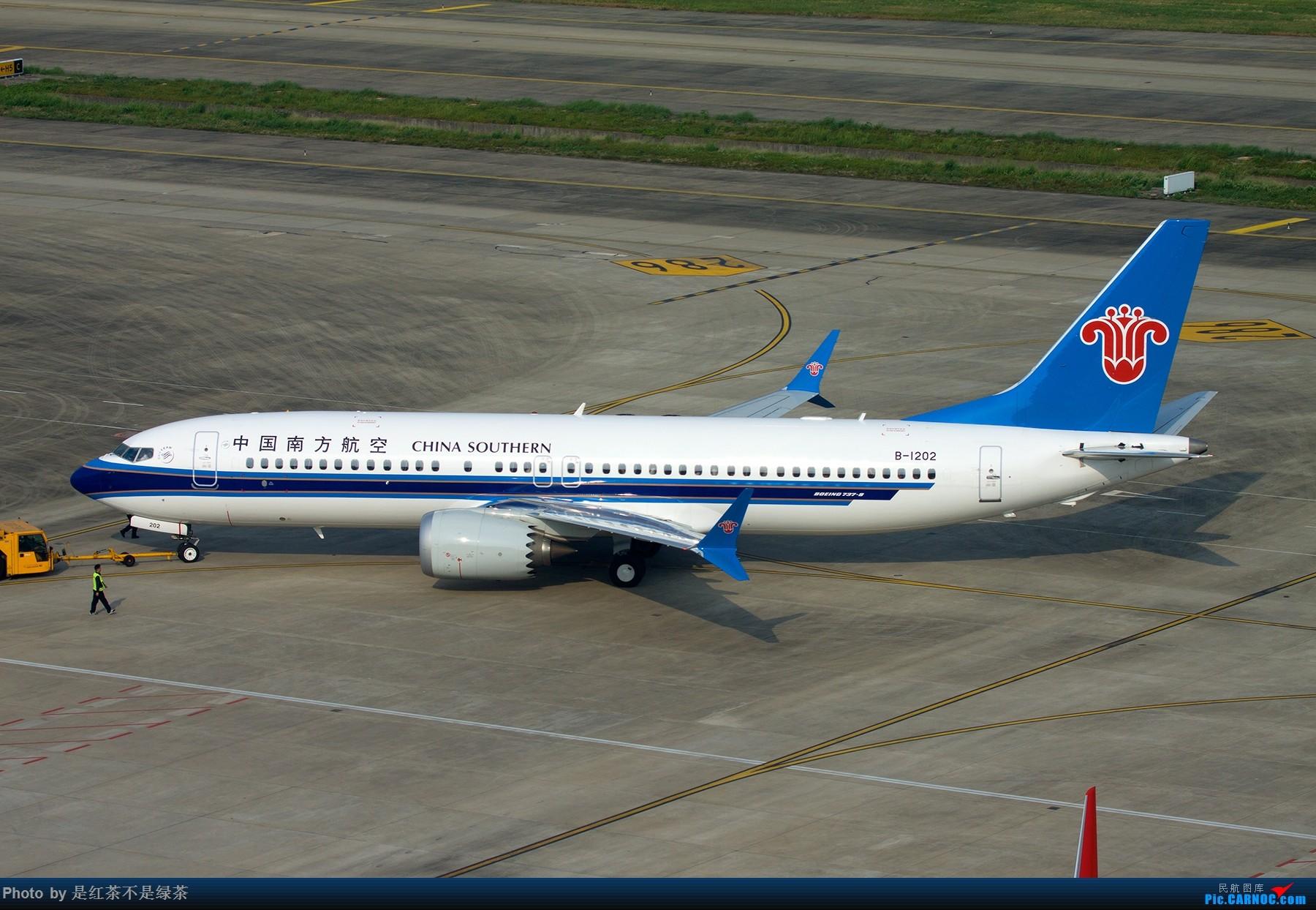Re:[原创]【红茶拍机】东航和南航的当家新窄体。 BOEING 737MAX-8 B-1202 中国上海虹桥国际机场