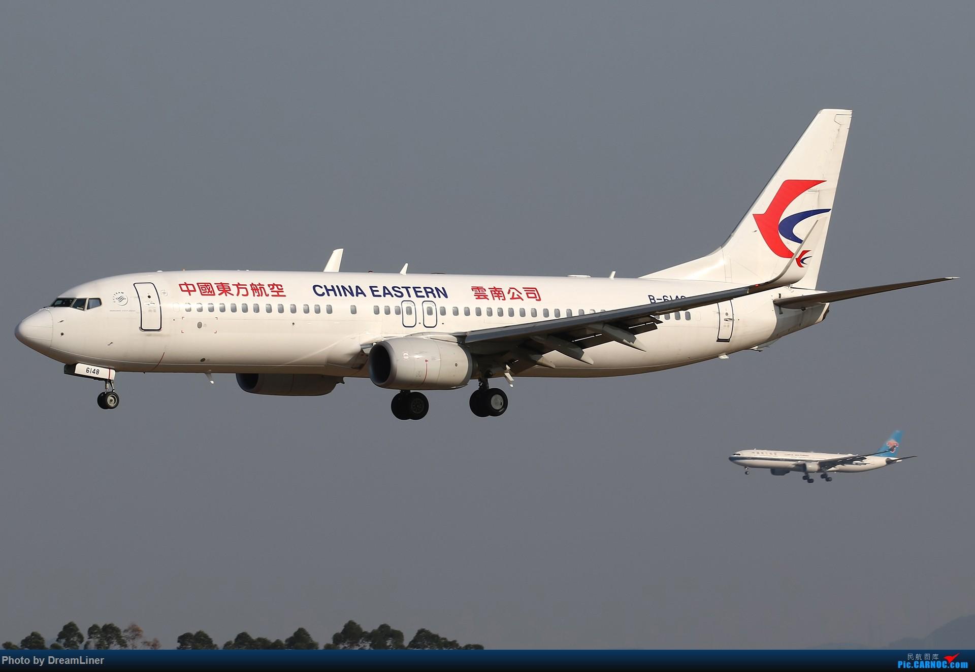 [原创]【CAN】一组宽体 BOEING 737-800 B-6148 中国广州白云国际机场