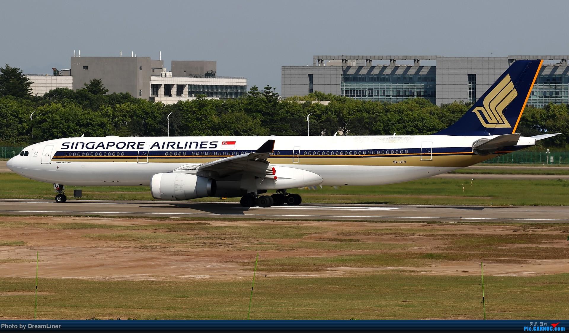 Re:[原创]【CAN】一组宽体 AIRBUS A330-300 9V-STV 中国广州白云国际机场