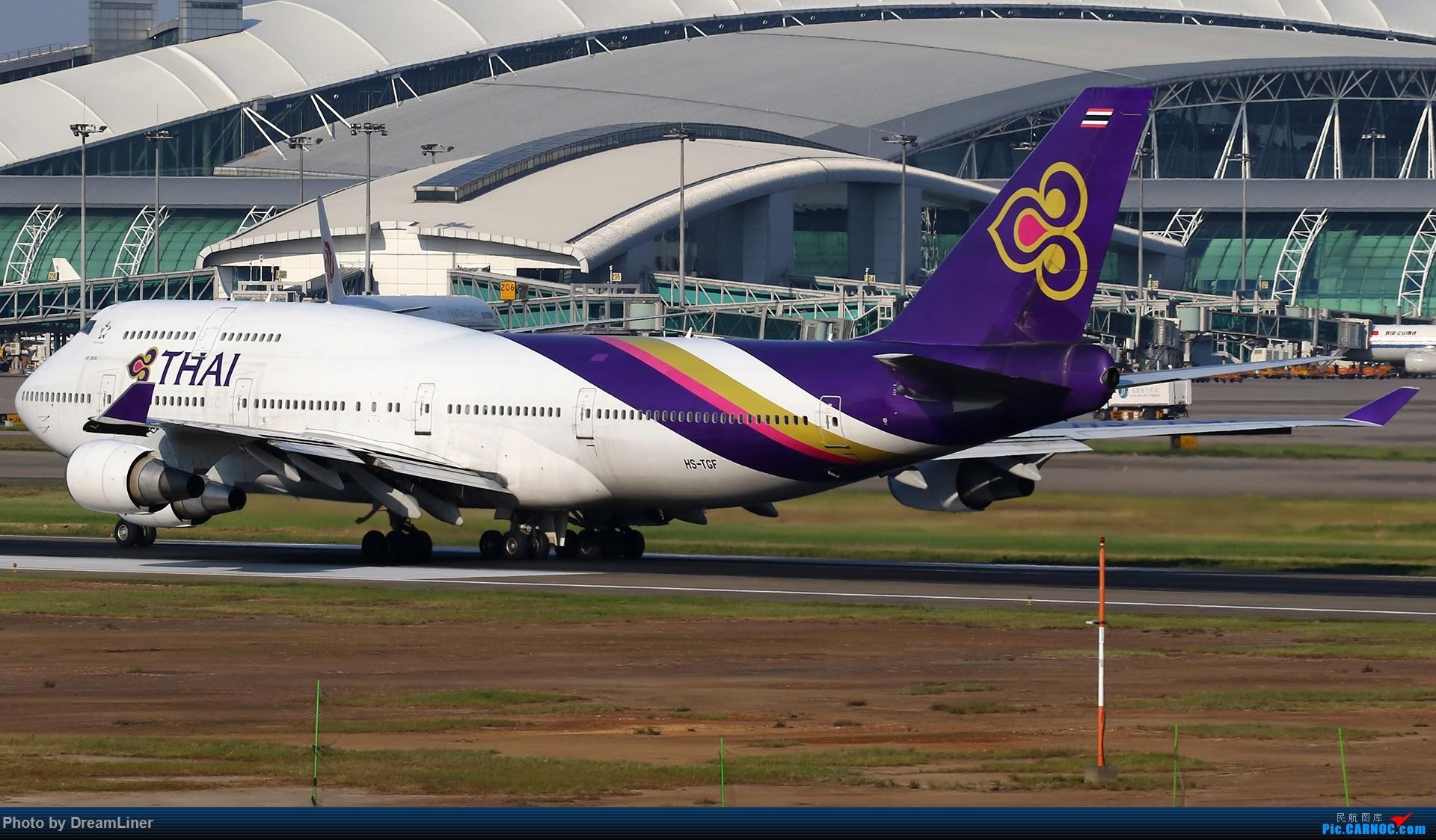 Re:[原创]【CAN】一组宽体 BOEING 747-400 HS-TGF 中国广州白云国际机场