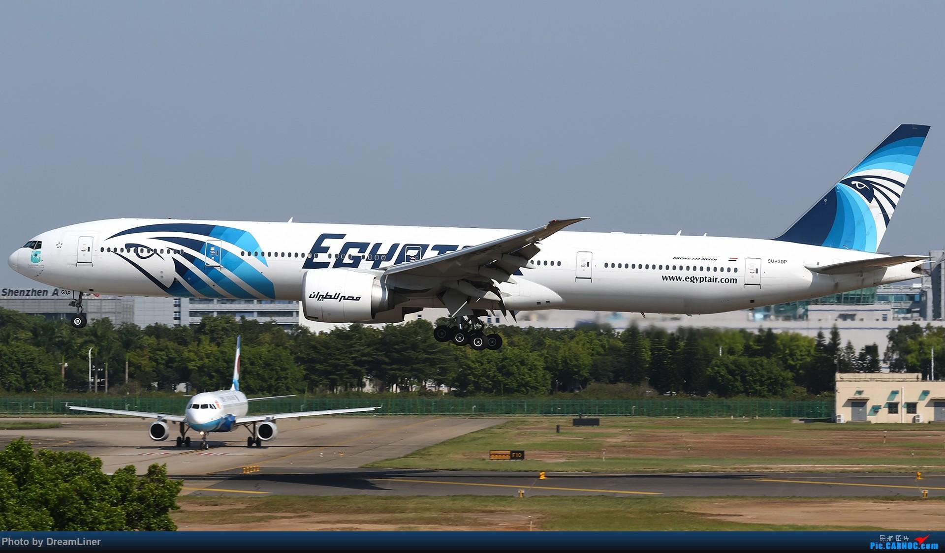 Re:[原创]【CAN】一组宽体 BOEING 777-300ER SU-GDP 中国广州白云国际机场