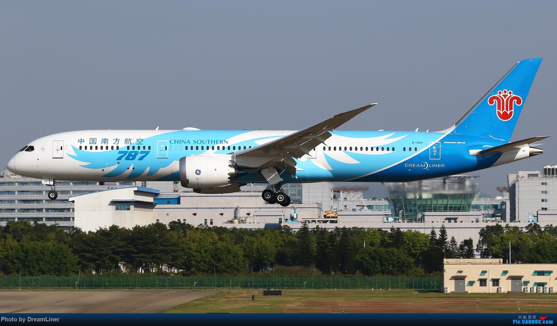Re:[原创]【CAN】一组宽体 BOEING 787-9 B-1169 中国广州白云国际机场