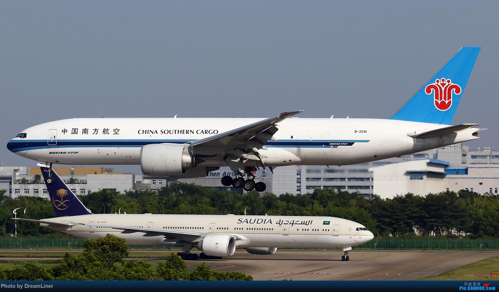 Re:[原创]【CAN】一组宽体 BOEING 777F B-2041 中国广州白云国际机场
