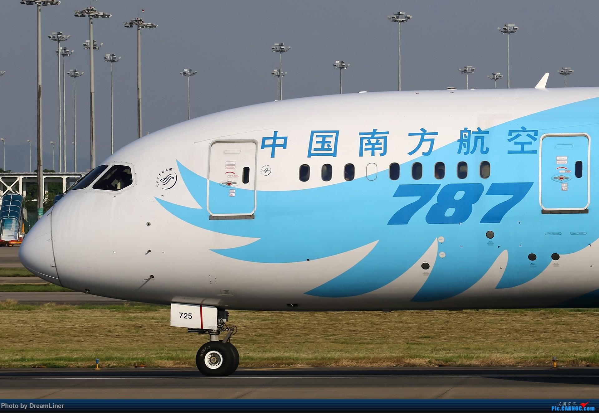 Re:【CAN】一组宽体 BOEING 787-8 B-2725 中国广州白云国际机场