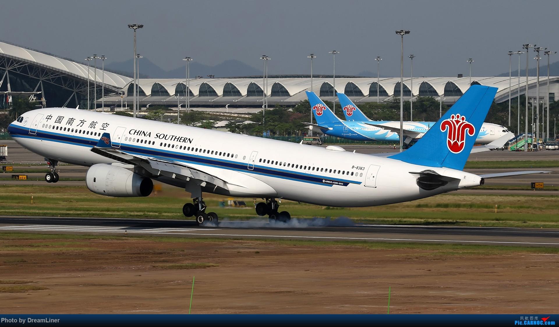 Re:[原创]【CAN】一组宽体 AIRBUS A330-300 B-8363 中国广州白云国际机场