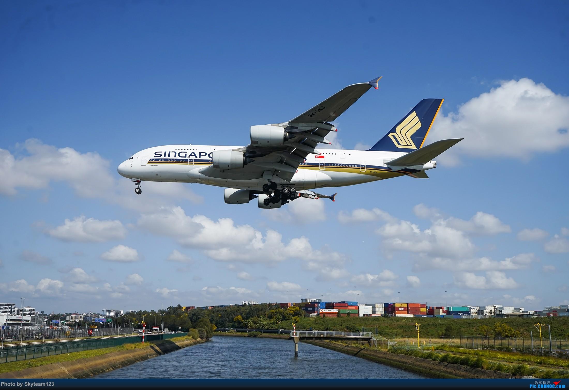 Re:[原创][SYD] 假期拍机小结 解锁16R跑道头拍机位 & 停车楼拍机作业 【全宽体】 AIRBUS A380-800 9V-SKJ 澳大利亚悉尼金斯福德·史密斯机场
