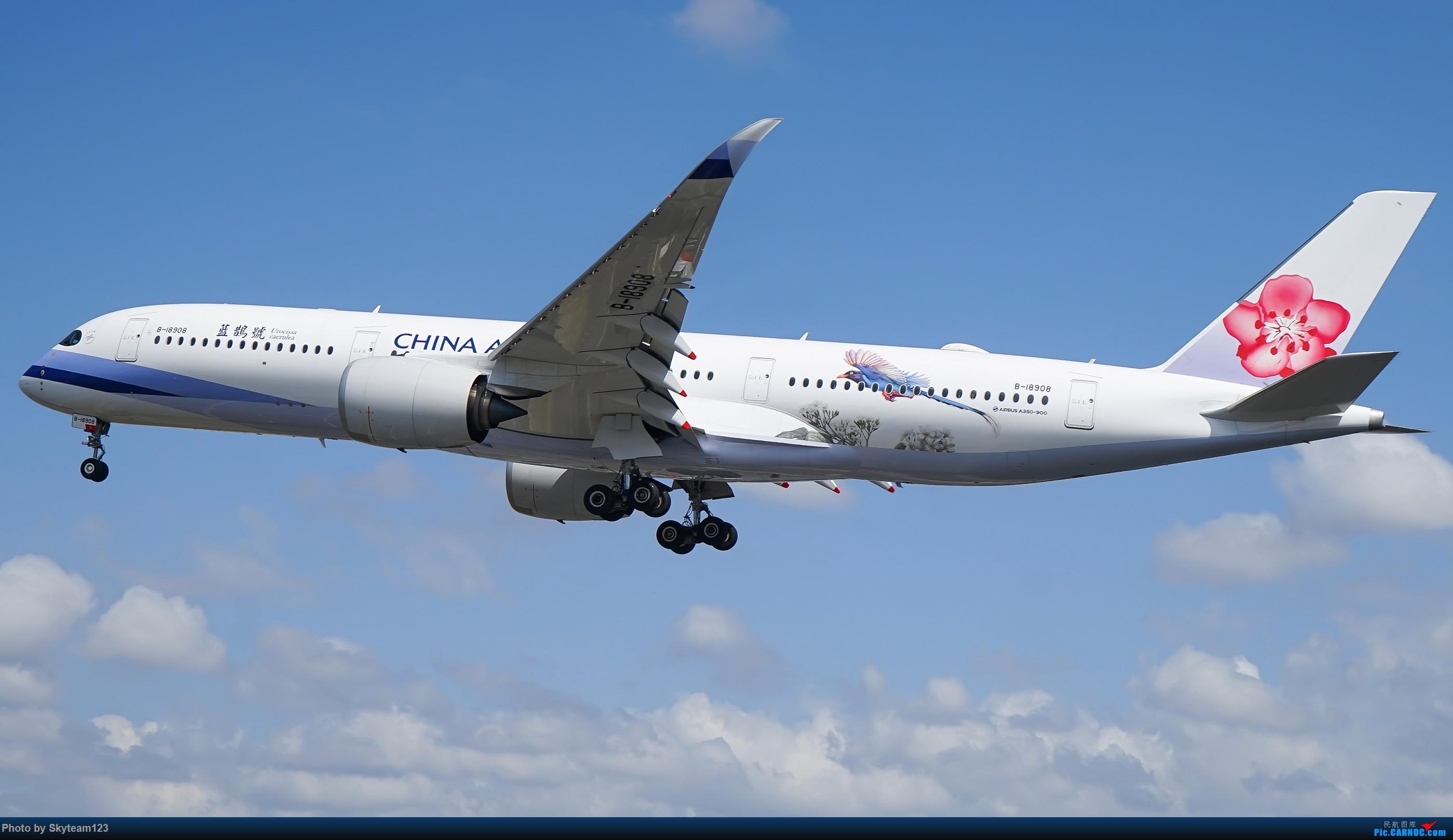 Re:[原创][SYD] 假期拍机小结 解锁16R跑道头拍机位 & 停车楼拍机作业 【全宽体】 AIRBUS A350-900 B-18908 澳大利亚悉尼金斯福德·史密斯机场