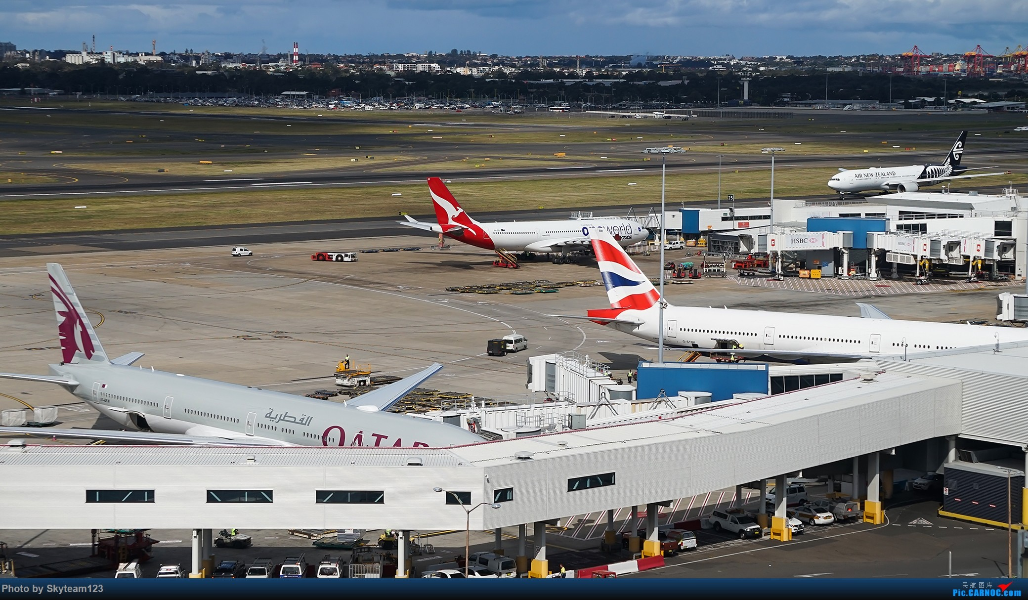 Re:[原创][SYD] 假期拍机小结 解锁16R跑道头拍机位 & 停车楼拍机作业 【全宽体】 BOEING 777-300ER B-KQR 澳大利亚悉尼金斯福德·史密斯机场 澳大利亚悉尼金斯福德·史密斯机场