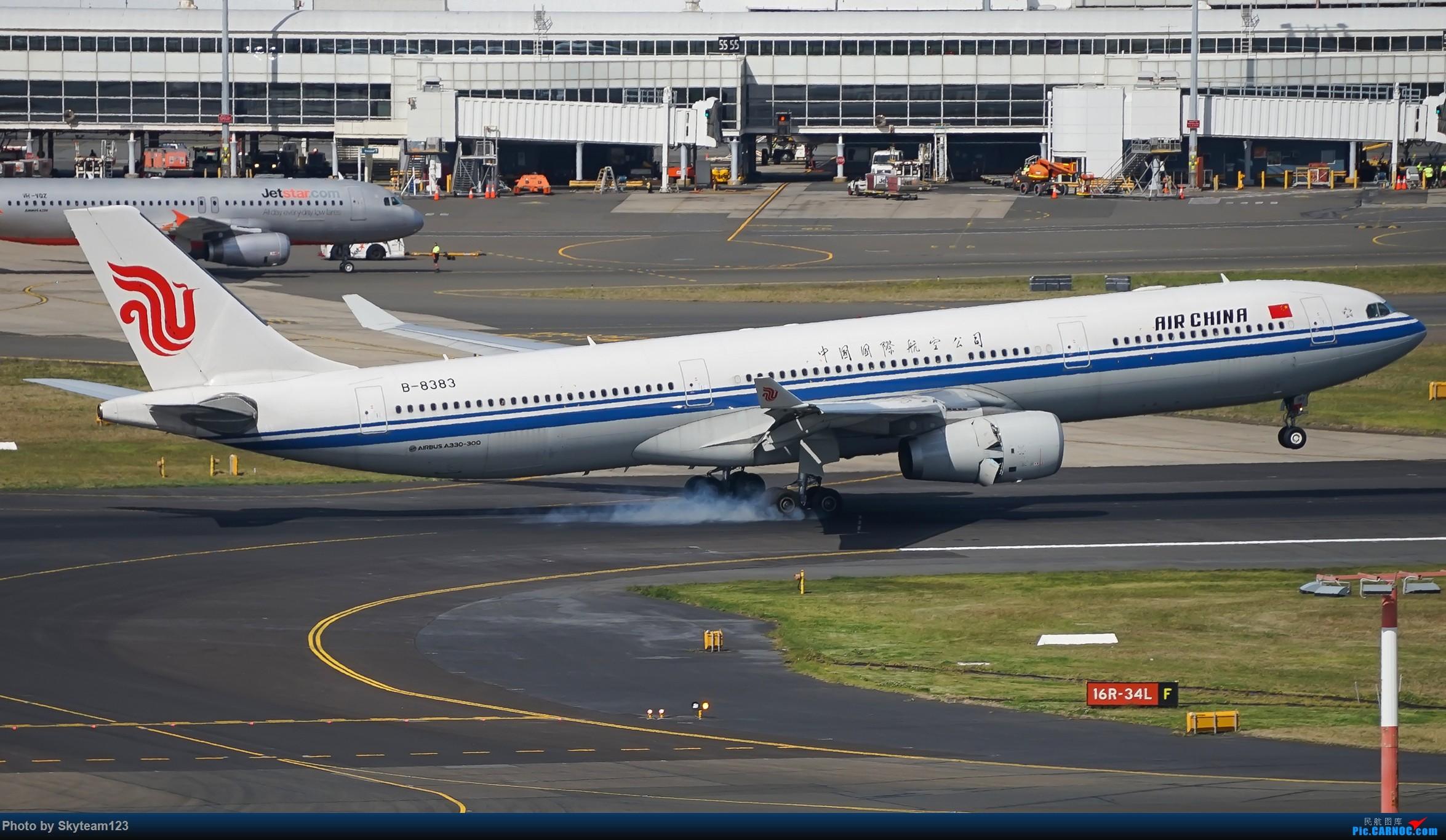 Re:[原创][SYD] 假期拍机小结 解锁16R跑道头拍机位 & 停车楼拍机作业 【全宽体】 AIRBUS A330-300 B-8383 澳大利亚悉尼金斯福德·史密斯机场