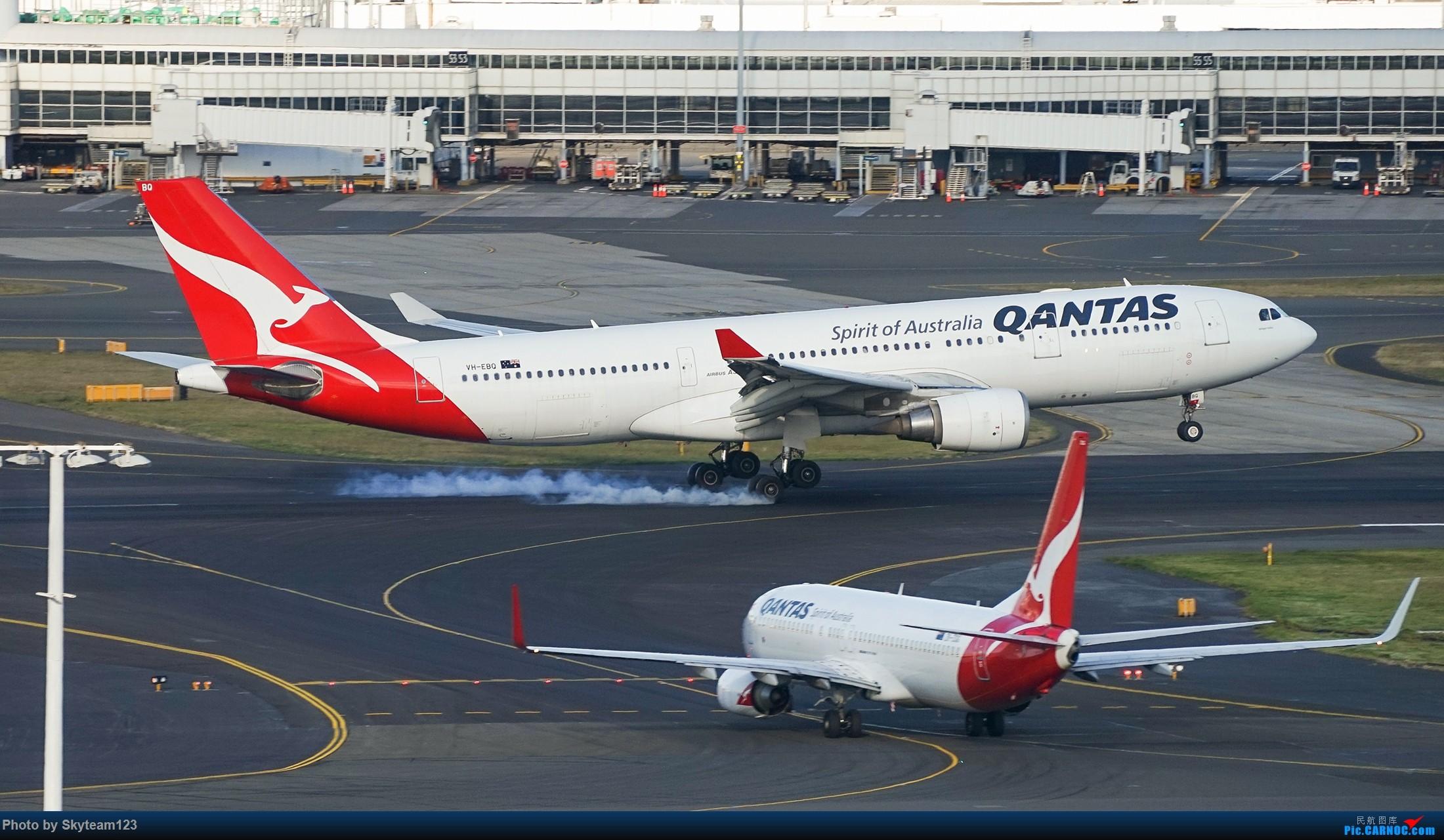 Re:[原创][SYD] 假期拍机小结 解锁16R跑道头拍机位 & 停车楼拍机作业 【全宽体】 AIRBUS A330-200 VH-EBQ 澳大利亚悉尼金斯福德·史密斯机场