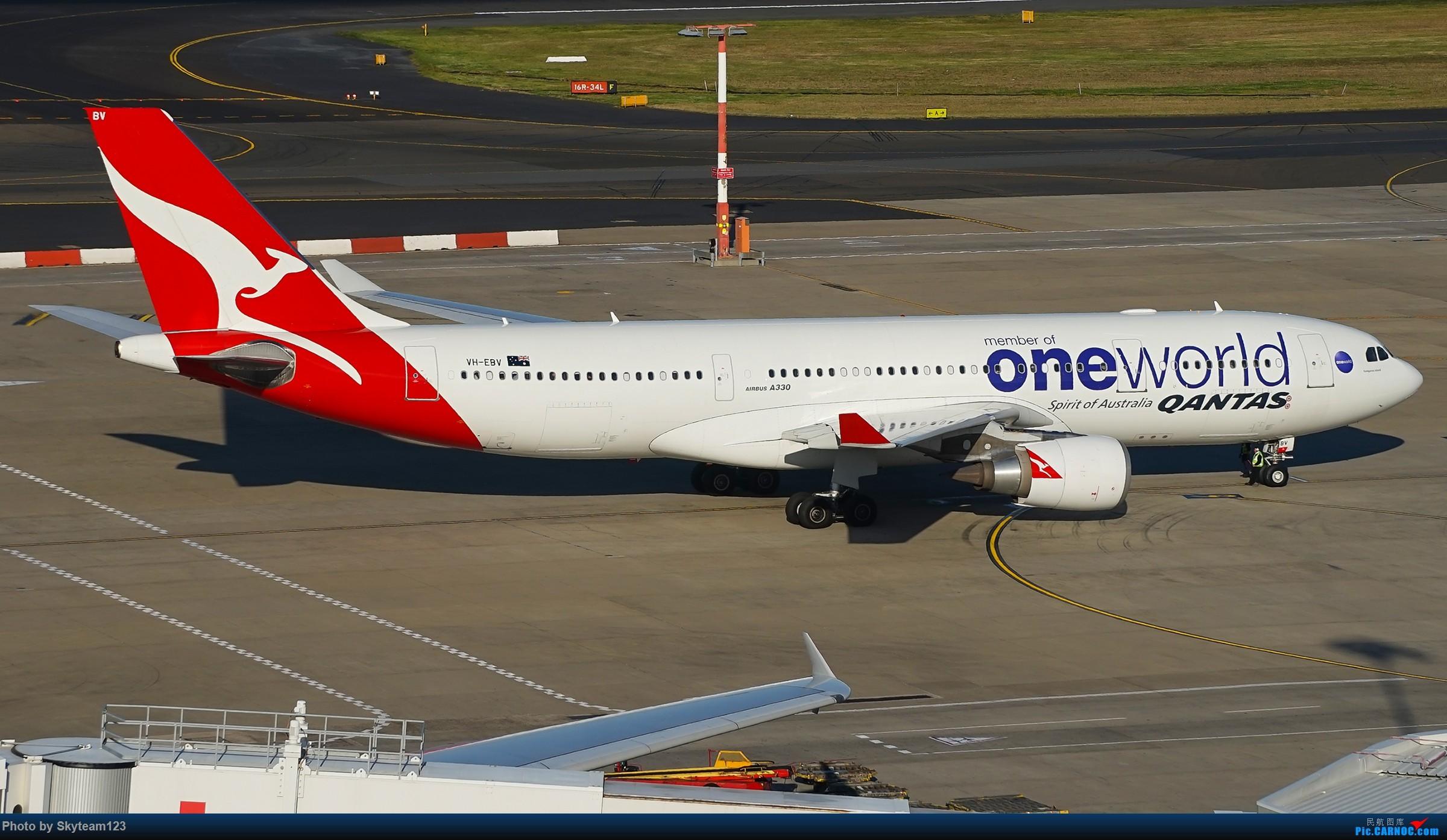 Re:[原创][SYD] 假期拍机小结 解锁16R跑道头拍机位 & 停车楼拍机作业 【全宽体】 AIRBUS A330-200 VH-EBV 澳大利亚悉尼金斯福德·史密斯机场